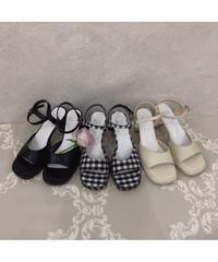 【Summer8】strap sandal(S20-07027K)