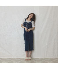 【Summer 6】pencil denim one-piece(S20-04076K)