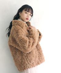 volume fur bijou coat(A19-06038K)