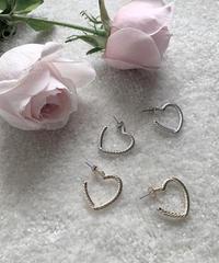 heart mini pierce (2colors)
