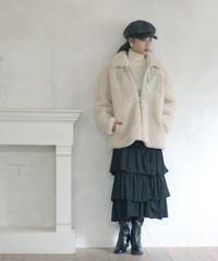 boa topper coat(A19-06035K)