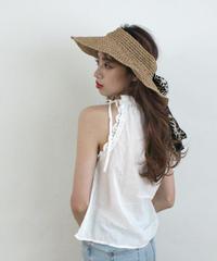 leopard capeline hat (S19-10100K)