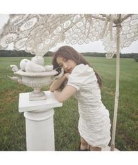 【Summer 32】shirring one-piece (cg00031)