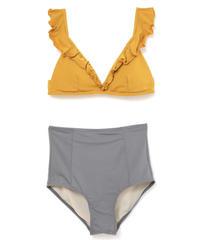 【last 1】bicolor high waist bikini