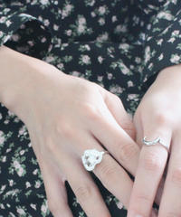 vintage silver angel ring set(A19-10119K)
