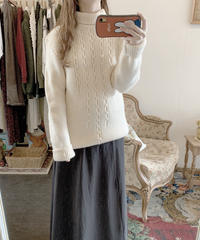 used euro cable sweater