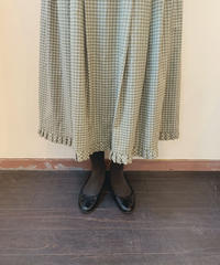 used euro check skirt