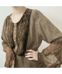 used ethnic blouse