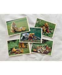 vintage teddy bear card