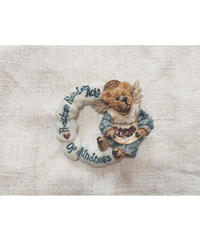 vintage teddy bear brooch