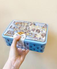 ブルターニュマップ  【クッキー缶】