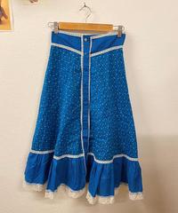 晴天の花柄スカート188