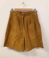 leather ハーフパンツ1690