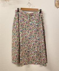 夢を追いかけるお花のスカート1047