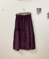 紫芋のゴーデュロイスカート4299