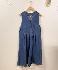 デニムのジャンパースカート3051