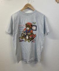 手芸が好きなクマのTシャツ1177