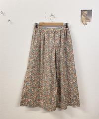 春色を感じるお花のスカート3127