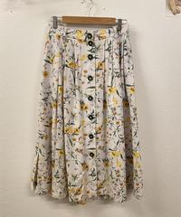 ボタニカルなスカート1040