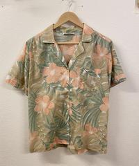 お花の開襟シャツ1055