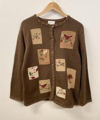 編み物が好きなニットカーディガン2399