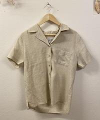 キナリの開襟シャツ1194