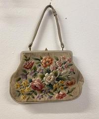 咲き誇るお花のゴブランバッグ0106