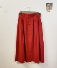 トマトスープを作るスカート3184