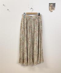 春カラーのペイズリー柄スカート3412