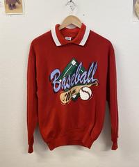 昔から野球が好きな少年のスウェット2684