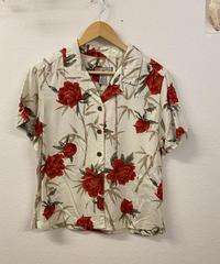 お花の開襟シャツ944
