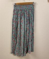 夏色が広がるお花のスカート1105