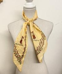お散歩に行くスカーフ0261