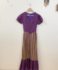 ブルーベリー狩りに行くドレス3524