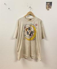お月様と仲がいい天使のTシャツ3645