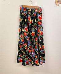 明るいあの子のお花のスカート1278