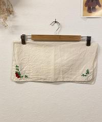 いちご刺繍のランチパース045