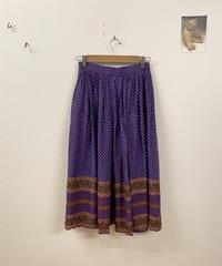 兄妹でお買い物に行くスカート3657