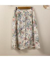 春風そよぐお花のスカート644