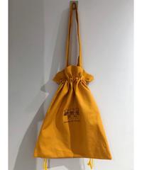 くまたちの刺繍巾着トートバッグ