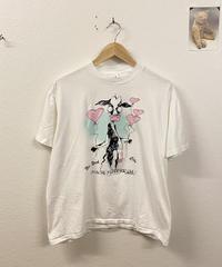 恋をしているウシのTシャツ(90's USA製)3257