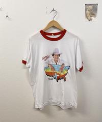 爽やかな朝を迎えるリンガーTシャツ3187