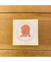 anoco no oheya logo sticker
