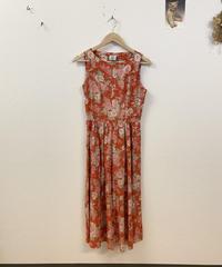 laura ashleyの花柄ジャンパースカート3801