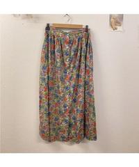 想いを伝える花柄スカート806