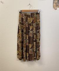 お花を育てるスカート1343