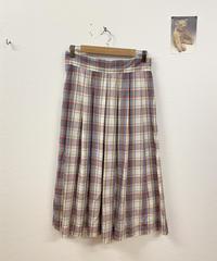 優しいチェック柄スカート3382