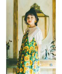 🍦cream frill blouse
