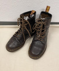 dr.martens brown 8ホール(England)0329