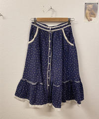 GUNNIESの小花柄スカート2925